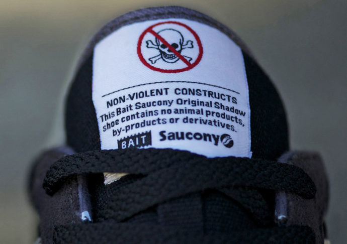 premium selection 0bf01 bef04 Saucony propone scarpe da ginnastica per vegani | Stampa News